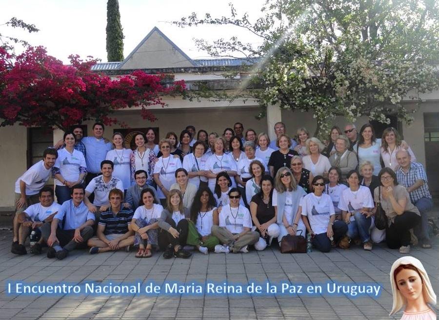 Foto del Encuentro Nacional de Maria Reina de la Paz en Uruguay