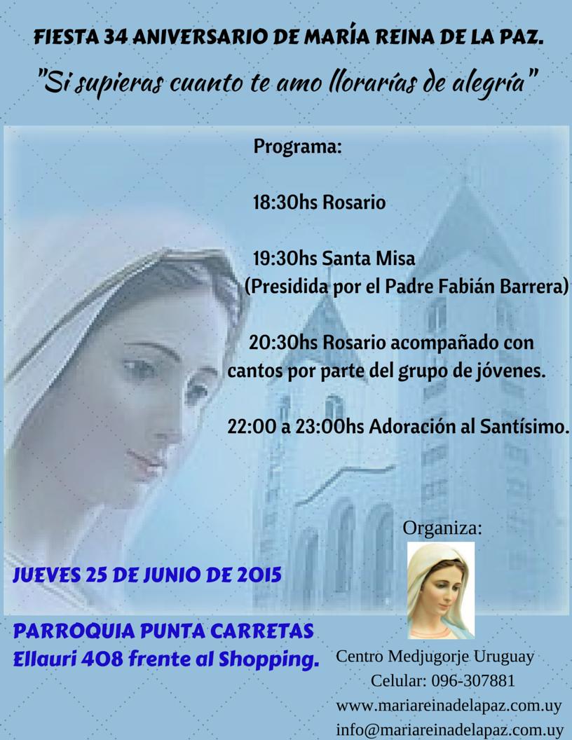 Fiesta 34 Aniversario Punta Carretas